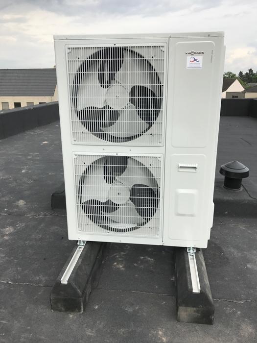 lucht-water warmtepomp (buitenunit)