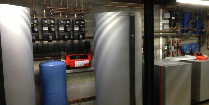 water water warmtepomp kantoor