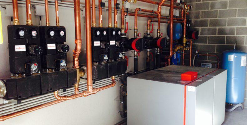 warmtepomp water water industrieel