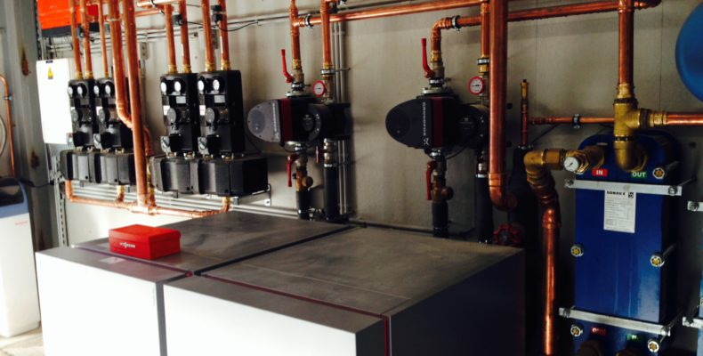 warmtepomp water water industrie