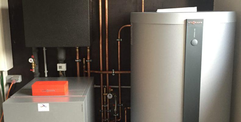 Renovatie verwarming aarde-water warmtepomp