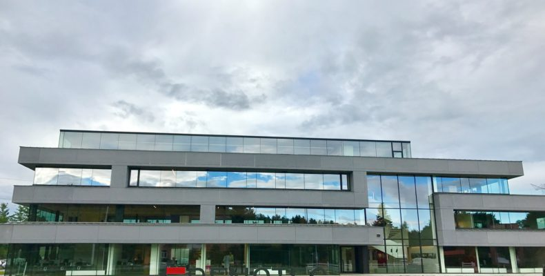 Warmtepompoplossing kantoren nieuwbouw