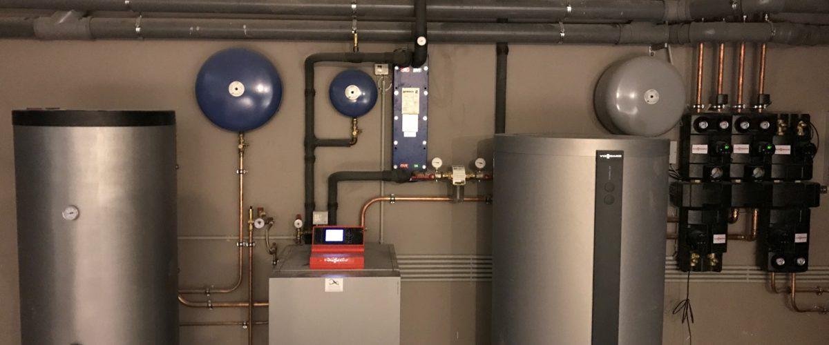 warmtepompinstallatie warm water boiler