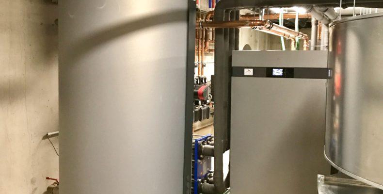 Warmtepompinstallatie water water kantoren