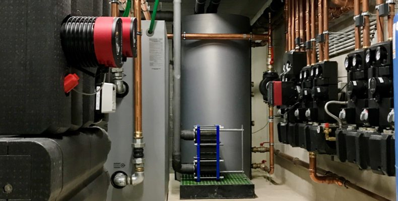 Warmtepompinstallatie water-water kantoren