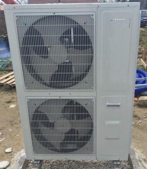 warmte uit de lucht - warmteonttrekking lucht lucht-water