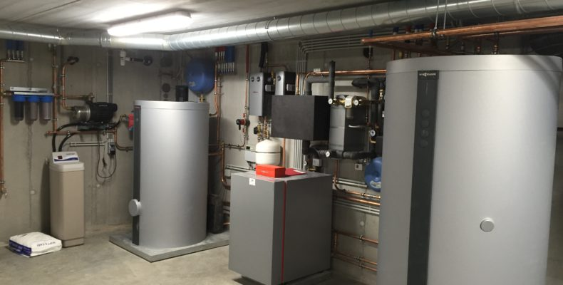 warmtepomp boiler buffer