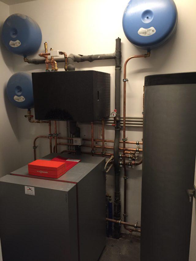Installatie warmtepomp schilde