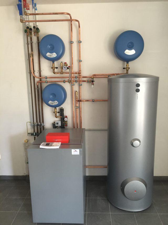 Warmtepompinstallatie geothermie