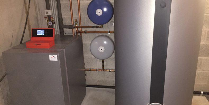 warmtepomp boring installatie kelder