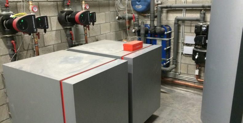 warmtepomp verwarming industrie