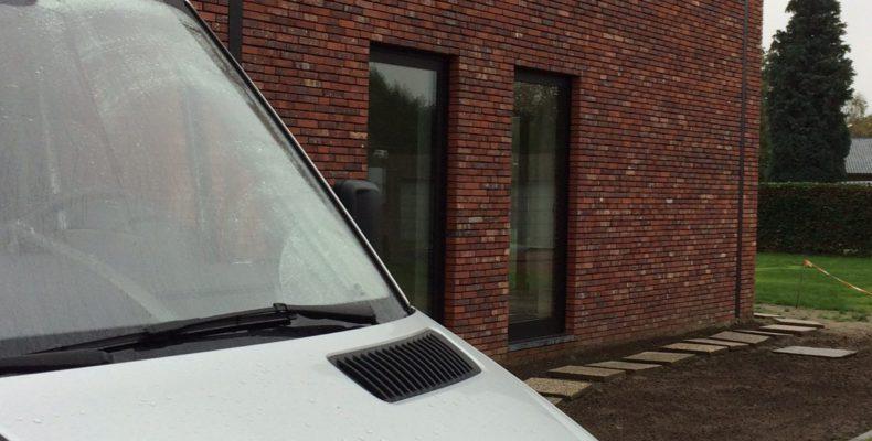 warmtepompinstallatie vloerverwarming mol kelder