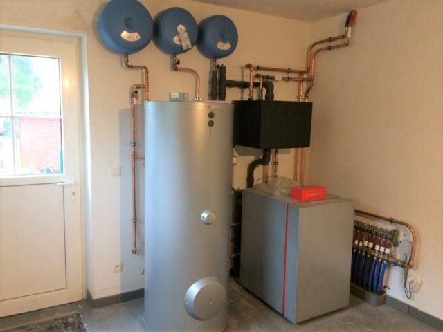 installatie verwarming met geothermie