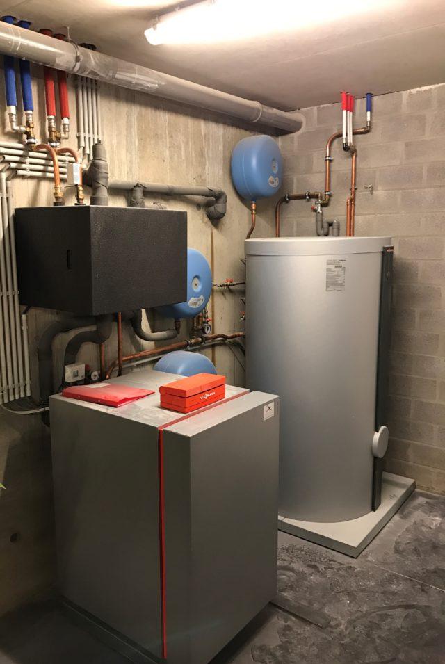 geothermische warmtepomp installatie