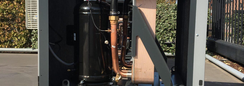 geothermisch warmtepompsysteem