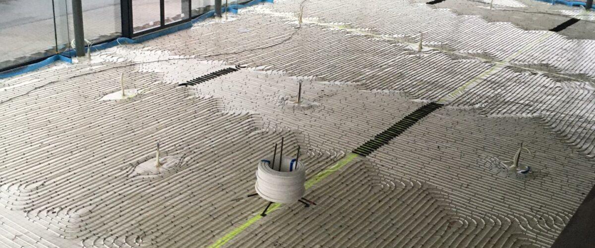 warmtepomp water-water garage